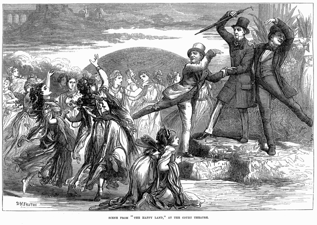 The_Happy_Land_-_Illustrated_London_News_March_22_1873