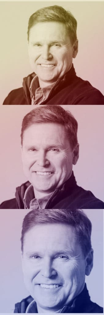 A picture of angel investor Andrew Dixon smiling