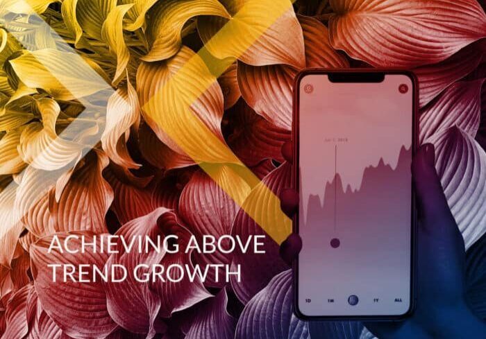 Above trend growth