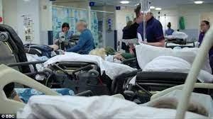 hospital nhs crowding
