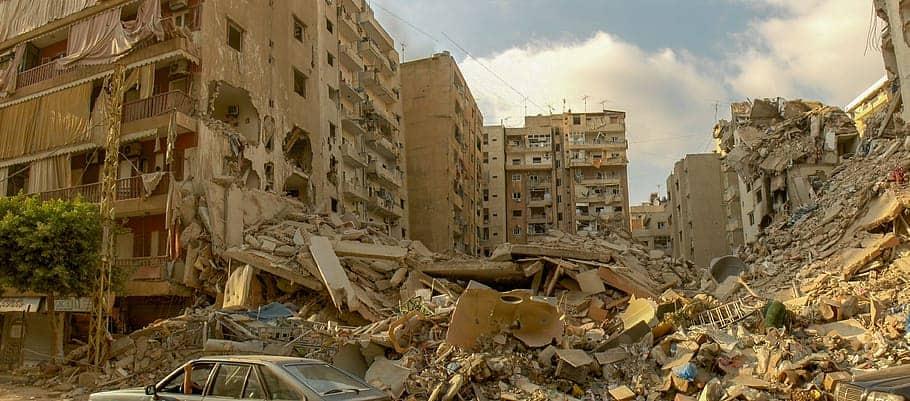 lebanon-beirut-demolished-building-war